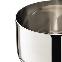 Accademia lagofusion wok avec couvercle lagostina france for Polissage inox miroir